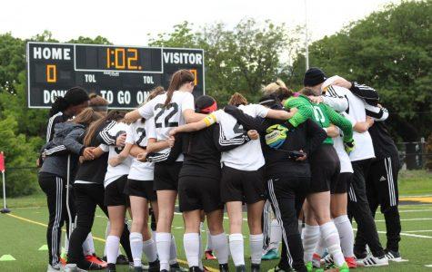 Girls Soccer State Quarterfinal Match