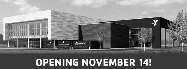 A rendering of the Newton YMCA provides a visual of the finished building. With the opening on Nov. 14, community members with a day pass or membership will have access to many amenities, including the pool, basketball courts, wellness center, running track and group exercise classes.