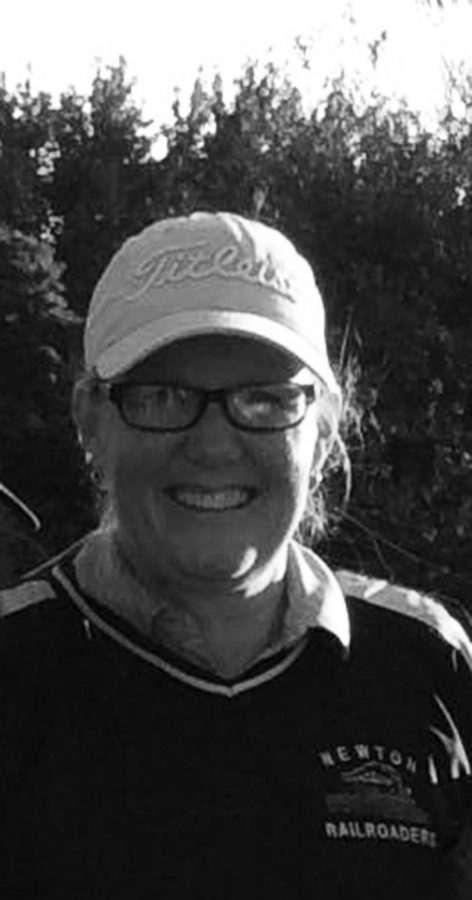 Head golf coach Joanie Pauls