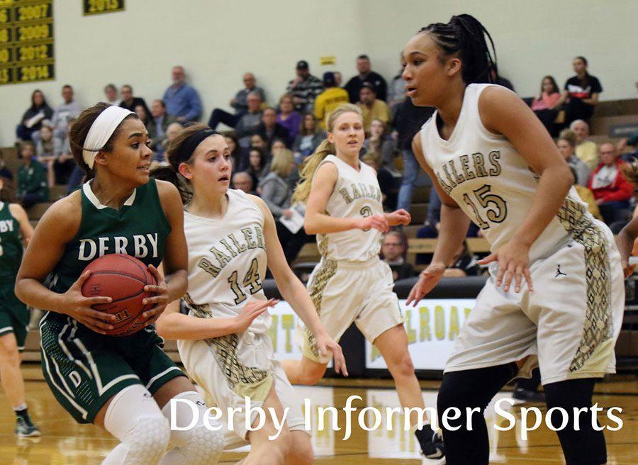 Kernal+defends+Derby%E2%80%99s+Aliyah+Myers+during+the+home+game+Jan.+10.+Newton+won+41-32.+