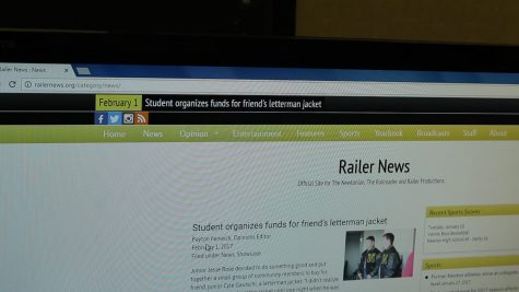 Journalism department introduces new website