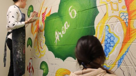 Murals class adds more throughout building