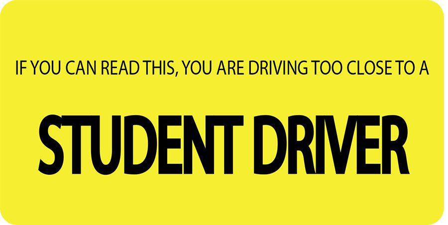 student-driver-bumper-sticker