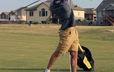 Boys Varsity Golf Practice