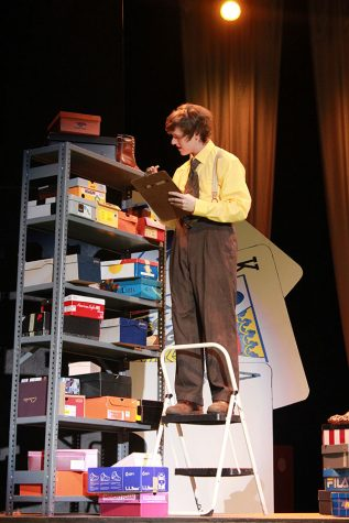 """Angolo gives first major lead performance in spring musical """"Lucky Stiff"""""""