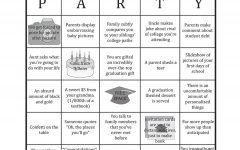 Newton graduation party bingo: common party cliches