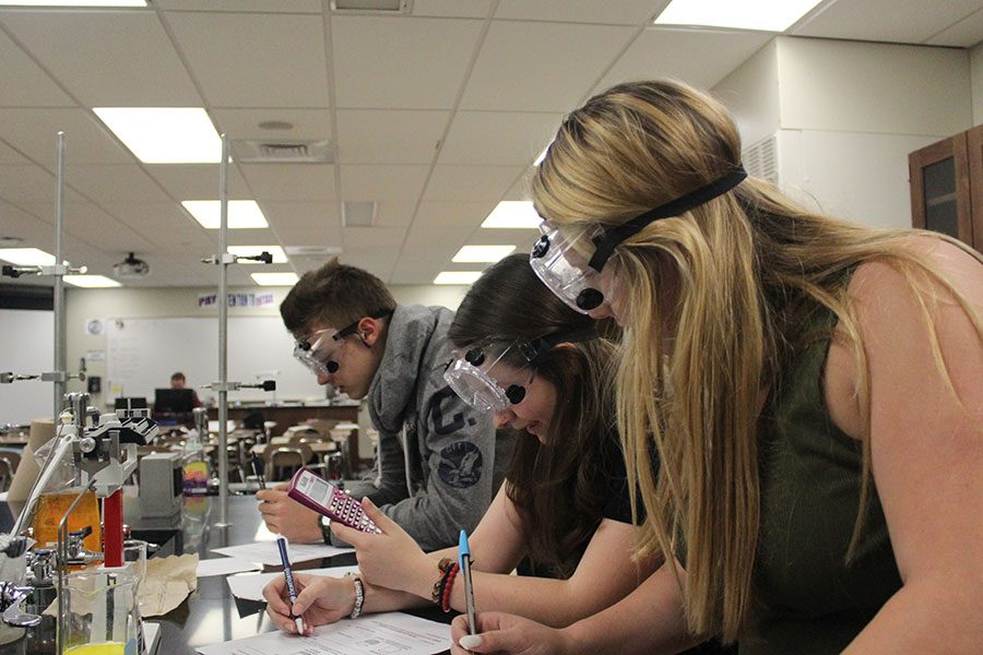 Honors Chemistry 1 Lab