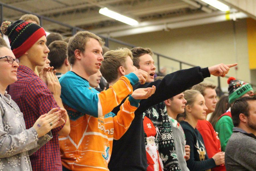 Varsity Basketball 12/8