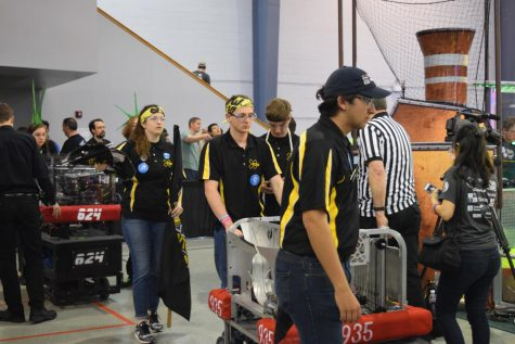 RaileRobotics team builds winning robot