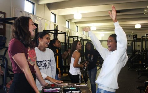 Students Participate in First Railer Pride Activity