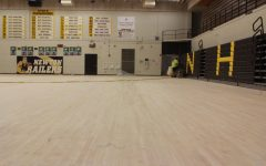 Ravenscroft gym floor to be refinished, ready for use before winter sports season