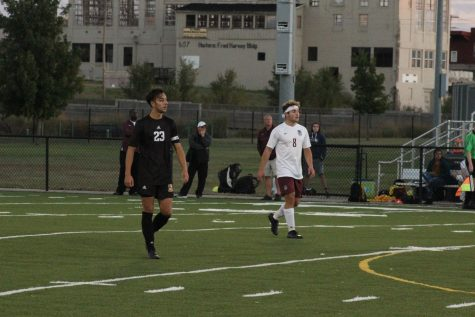 Varsity Soccer Vs. Salina Central