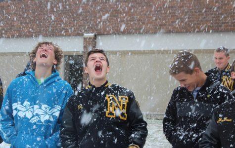 Snow Fun in Ms. Bergman's Class
