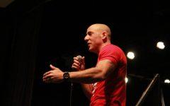 Global speaker Kevin Hines visits Newton High School