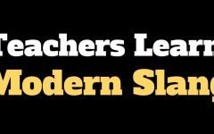 Teachers decipher modern slang