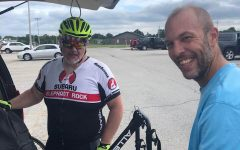 Williams participates in 104 mile bike ride