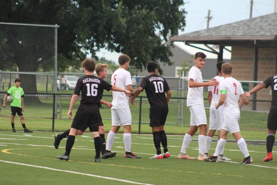 Varsity Soccer v. McPherson