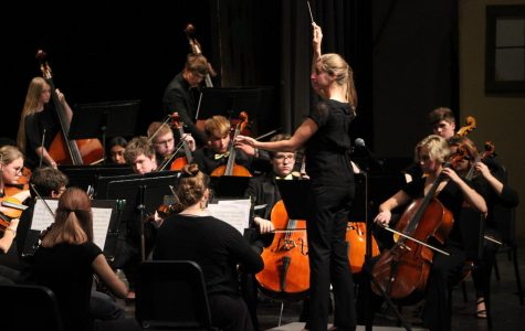 The orchestra preforms on Oct. 21.