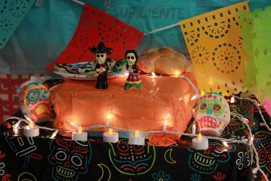Spanish classes participated in the Day of The Dead celebration.