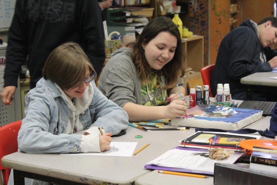 Paint and Draw I Jan. 29