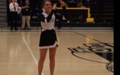 Karly Green signs the National Anthem