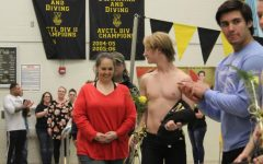 Boys Swim Meet Senior Night – Dec. 9