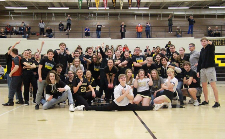 Flash mob revealed at winter pep assembly