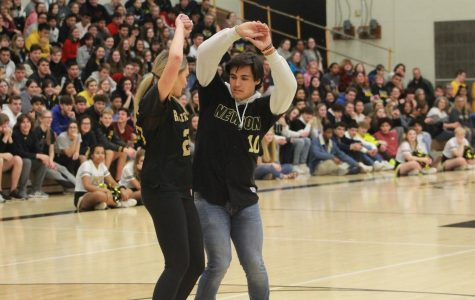 Homecoming Pep Assembly Feb. 7
