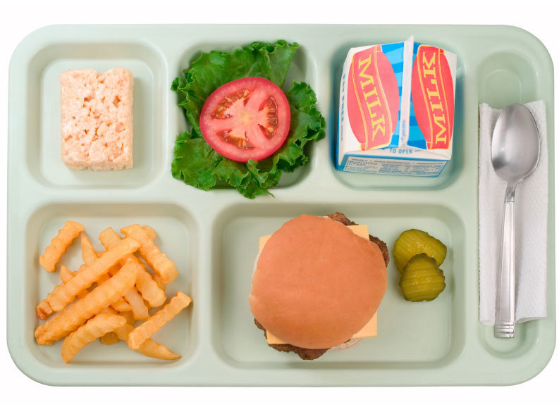 Students weigh in on school lunch change