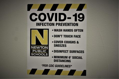 Second NHS student tests positive for COVID