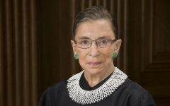 Students react to death of Ginsburg