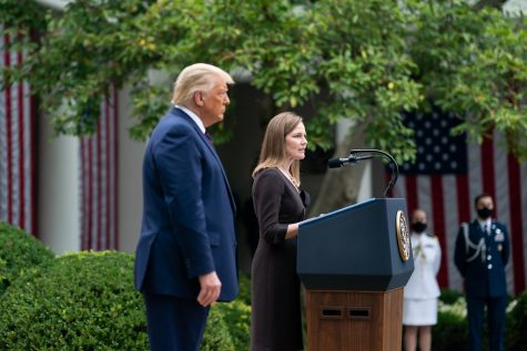 President Donald Trump nominated judge Amy Coney Barrett to precede Ruth Bader Ginsburg on the Supreme Court.