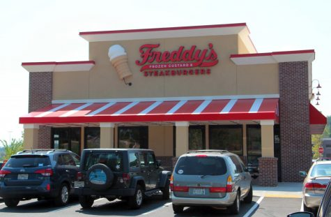 Students share excitement for Freddys location