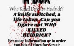 Thespians host murder mystery fundraiser