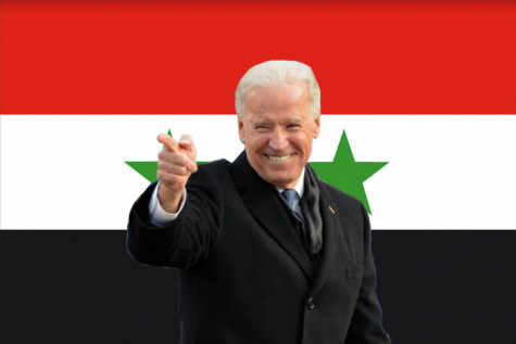 Biden takes first military action by air striking Syria