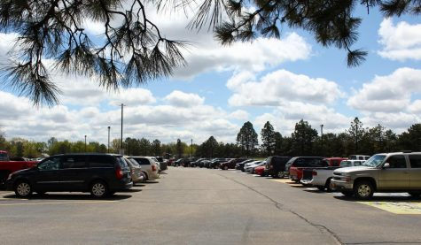 NHS parking lot causes concern