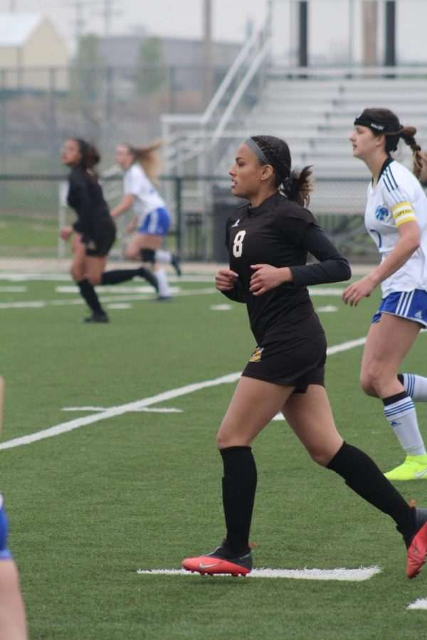 Girl's Varsity Soccer vs. Goddard – Apr. 15