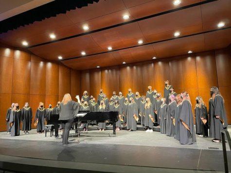 Choir participates in virtual competition