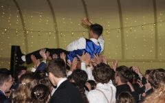 Students gather at the Athletic park bandshell in order to celebrate the 2021 NHS prom.
