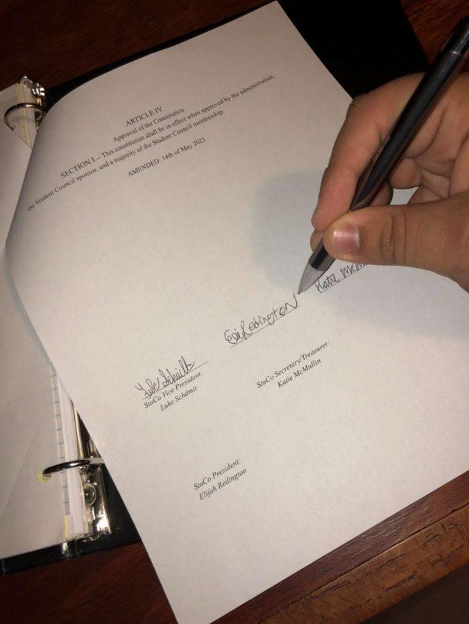 StuCo passes new constitution