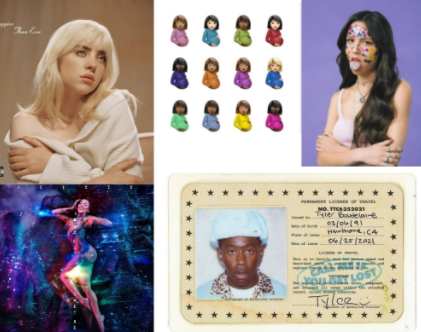 Artists release hit albums