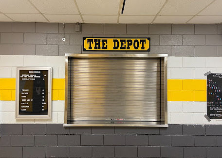 While the Railer Depot is still open for athletic events such as Volleyball and Basketball games, throughout the school day, the Depot has not been running for many years.